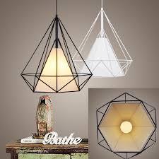 scandinavian lighting. Birdcage Pendant Lights Scandinavian Modern Minimalist Pyramid Light Iron With LED Bulb HM13-in From \u0026 Lighting On I