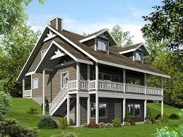 sloped lot house plans walkout basement fresh steep hillside house plans hillside home plans walkout basement