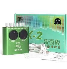 Sound card XOX K2 chuyên dùng cho hát live, thu âm KX-2