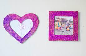 cardboard diy photo frame