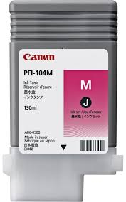 <b>Картридж Canon PFI</b>-<b>104M</b> (magenta) 130мл <b>3631B001</b> купить в ...