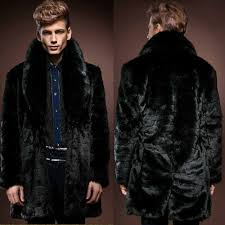 fancy mens faux fur coats 9 2016 thick font b men coat cool leather for 22