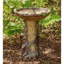 Bird Bath Garden Design Solid Pewter Christmas Tree Ornament Plow Hearth