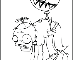 Plants Vs Zombies 2 Printable Coloring Pages Romanbaltazarinfo