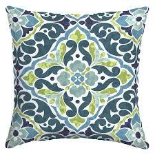 blue and green throw pillows. Tile Blue/Green Throw Pillow Blue And Green Pillows B