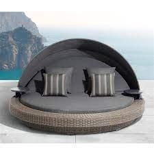 sarasota wicker patio day bed