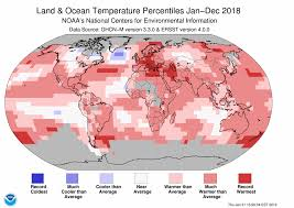 Bahrain Temperature Chart Global Climate Report Annual 2018 State Of The Climate