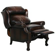 dark brown leather recliner chair. Gallery Photos Of Brilliant Reclining Desk Chair Dark Brown Leather Recliner E