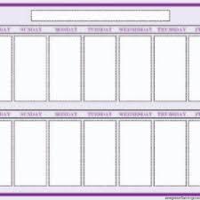 Free Weekly Blank Calendar Template Sample : Helloalive