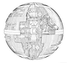 Small Picture Death Star Coloring Page For itgodme