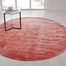 lucent round rug pink gfruit