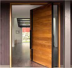 single front door