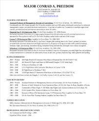 Military Pilot Resume Cool Pilot Resume Template Pilot Resume Template 48 Free Word PDF