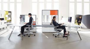 office desk solutions. Trend Home Office Furniture. New Contemporary Desk 10765 Teknion Upstage Benching Solutions Pinterest Design