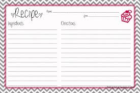 Recipe Paper Template 28 Inspirational Recipe Card Template Free