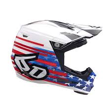 6d Helmets 2019 Youth Atr 2y Patriot Offroad Helmet Red White Blue Youth Large