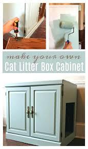 Decorative Cat Litter Box Cat Litter Furniture Compact Cabinet Cat Litter Box Furniture 91