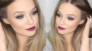 smokey eyes makeup tutorial with deep red lips beauty life mice you