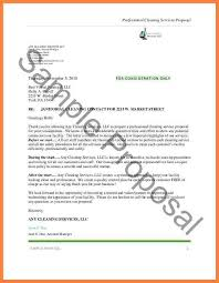 Commercial Cleaning Services Proposal Sample Chakrii