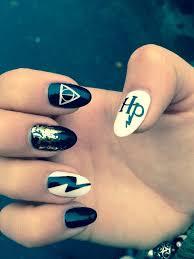 Harry Potter Nail Art Magic Mani Nehty Design Nehtů A úprava Nehtů