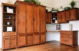 home office murphy bed. Alder Newport Office In English Manor Finish Home Murphy Bed