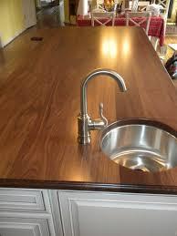 custom made walnut countertop