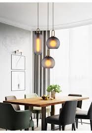 Großhandel Amerikanischen Wohnzimmer Esszimmer Pendelleuchte Luxus Industrielle Wind Glas Ball Tisch Bar Pendelleuchten 110 V 220 V Von Rangcy2008