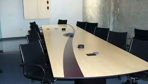 office conference table design. Conference Table, Convex, Birdseye Maple Office Table Design