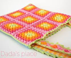 Classic Granny Square Pattern Classy Crochet Granny Square Bag