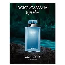 Dolce And Gabbana Light Blue Intense Eau De Toilette Perfume Intense Light Blue Feminino Eau De Parfum