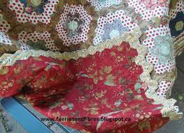 Faeries and Fibres: Tutorial: Finishing a hexagon quilt with a facing & If you've ever made a sleeveless blouse you will notice that the armhole is  typically finishing with a facing that is made from the same fabric as the  ... Adamdwight.com
