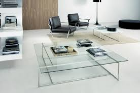living room  living room glass table with square glass coffee
