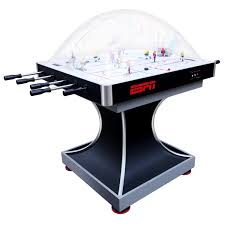 espn 2 player premium dome bubble hockey table with led scoring system com