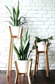 large plant stands home garden collections tall wooden