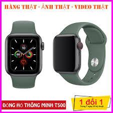 Đồng Hồ Thông Minh T500 Smart Watch Seri 56 - SMART WATCH T500 - Thay được  hình nền tùy ý từ điện thoại -Thiết kế thời thượngthông minh - Nghe gọi trực
