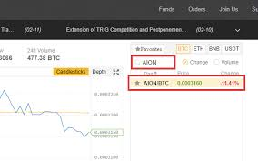 How To Buy Aion Aion On Binance Coincodex