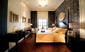 masculine bedroom wallpaper design
