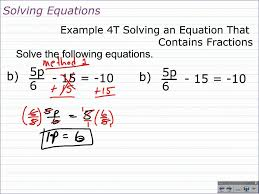 how to solve multi step equations with fractions and decimals algebra 1 help you