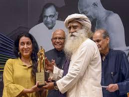 Sadhguru Shaheen Mistri Wins 42nd Jamnalal Bajaj Foundation