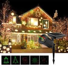 Light Source Christmas Lights Amazon Com Jay Long Solar Powered Led Gypsophila Projection
