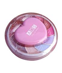 ads makeup kit eyeshadhow pact powder blusher and lip color 55gm