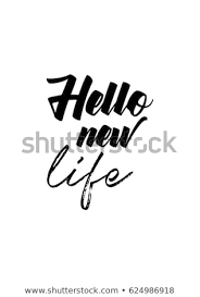 Lettering Quotes Motivation About Life Quote Stock Vector Royalty Interesting Quotes About New Life