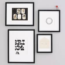 black picture frames. Gallery Frames - Black Picture L