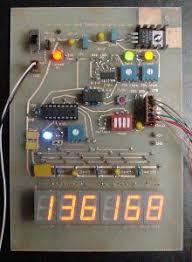 portable non contact digital tachometer huge leds robot room six digit version of the second generation tachometer
