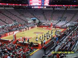 Rbc Center Seating Chart Nc State Basketball Pnc Arena Section 124 Nc State Basketball Rateyourseats Com