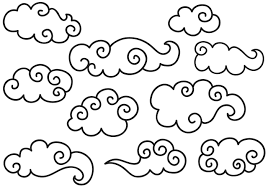 Clouds Design Chinese Clouds Free Vector Art 3767 Free Downloads