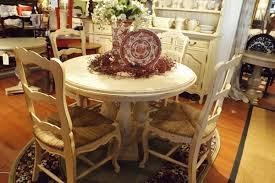 country wood dining table cottage style dining table and chairs white french dining table