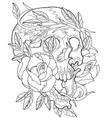 Small Picture Tattoo Design Coloring Pages Cecilymae