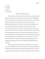 eco essay assignment eco assignment the key concepts in  9 pages final draft homeless essay