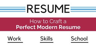 Crafting The Perfect Modern Resume How To Craft A Perfect Modern Resume 18 Awesome Tips Wisestep